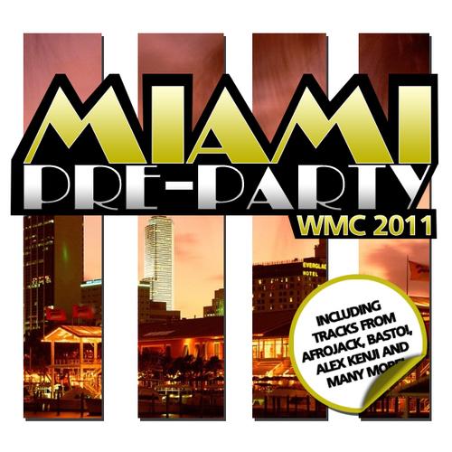 Miami Pre-Party 2011 Album Art