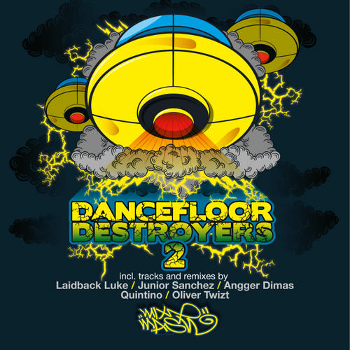 Album Art - Mixmash Dancefloor Destroyers Volume 2