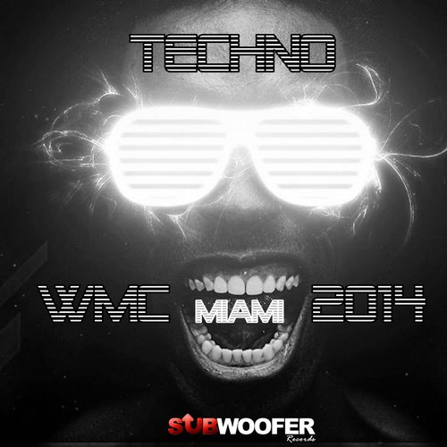 Album Art - Techno WMC Miami 2014 (Subwoofer Records)