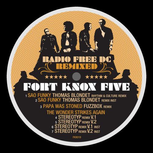 Album Art - Radio Free DC Remixed Volume 6