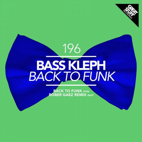 Album Art - Back to Funk