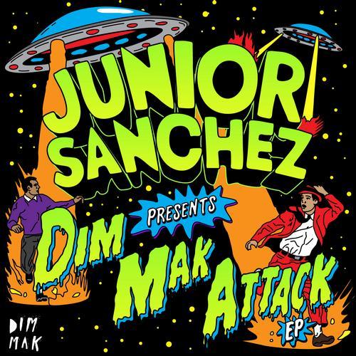 Album Art - Dim Mak Attack EP