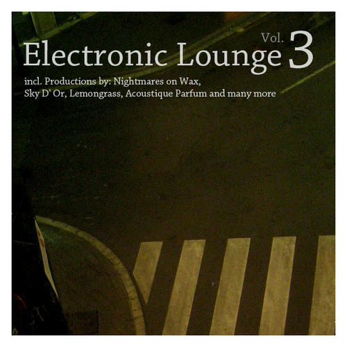Album Art - Electronic Lounge Volume 3