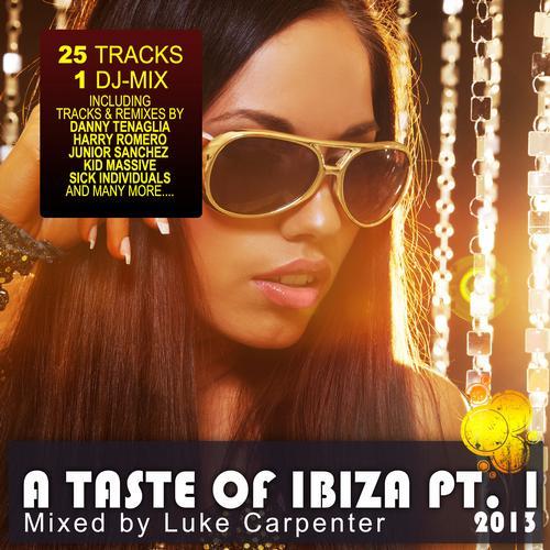 Album Art - A Taste of Ibiza 2013 Pt. 1 - Summer House Anthems
