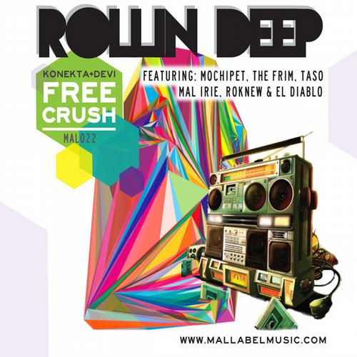 Album Art - Rollin Deep: Konekta & DEVi are Free Crush