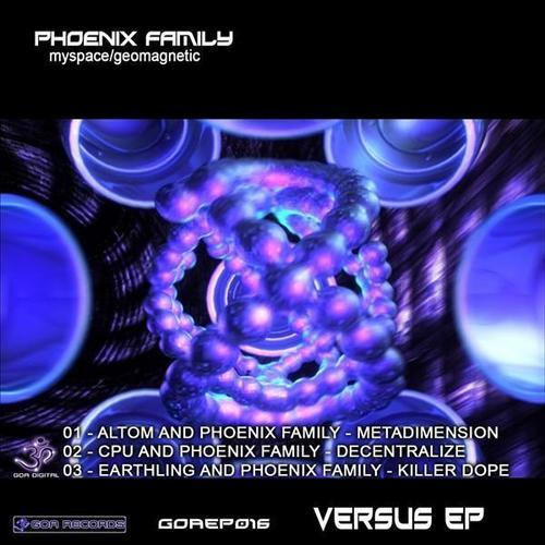 Album Art - Phoenix Family Versus EP