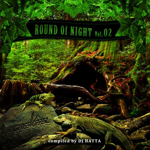ROUND OF NIGHT Vol.02 COMPILED BY DJ HATTA Album Art
