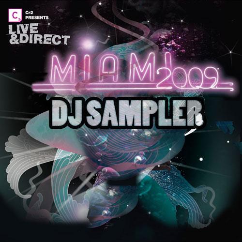 Album Art - Cr2 Presents Live & Direct Miami 2009 -  DJ Sampler