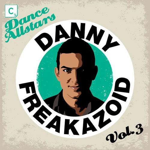 Album Art - Cr2 Dance Allstars Volume 3 - Danny Freakzoid