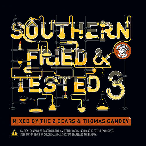 Album Art - Southern Fried & Tested 3 (Unmixed Version)