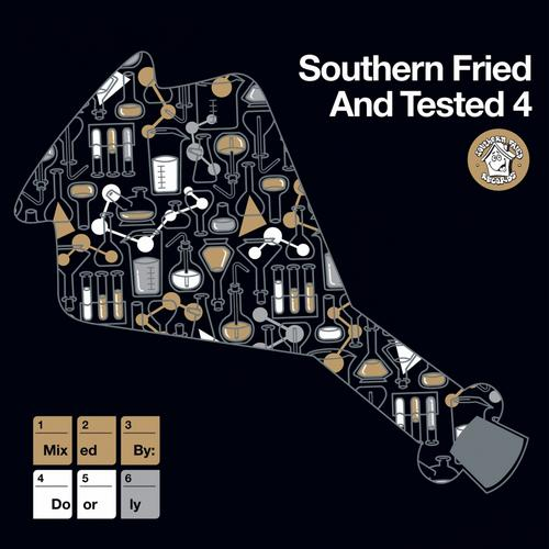 Album Art - Southern Fried & Tested, Vol. 4 (Mixed by Doorly)