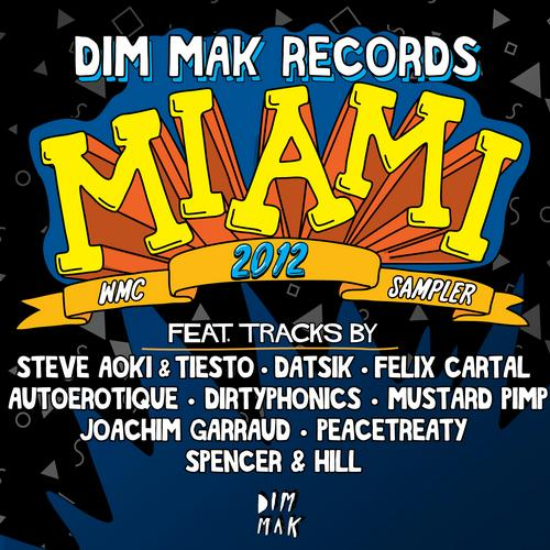 Album Art - Dim Mak Records Miami WMC 2012 Sampler