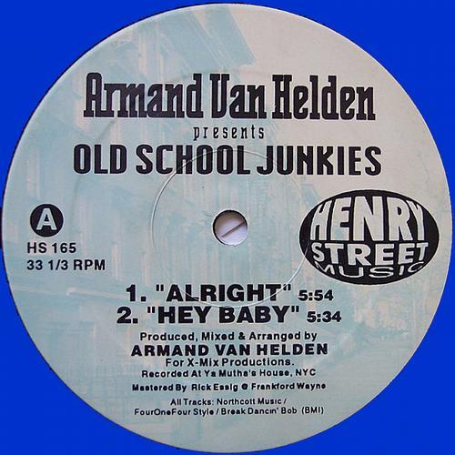 Album Art - Armand Van Helden presents Old School Junkies
