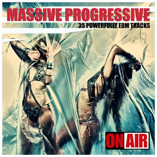 Album Art - Massive Progressive (35 Powerfully Unmixed EDM Tracks)