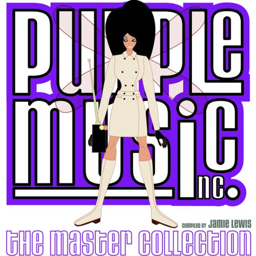Album Art - Purple Music - The Master Collection - Compiled By Jamie Lewis