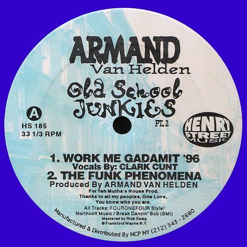 Album Art - Armand Van Helden presents Old School Junkies 2