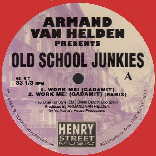 Album Art - Armand Van Helden presents Old School Junkies (White Vinyl) REMASTED