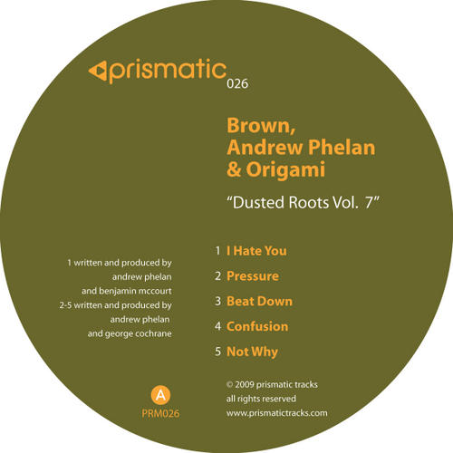 Album Art - Dusted Roots Volume 7