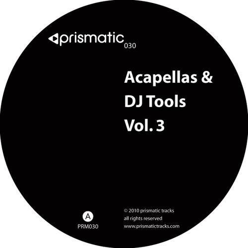 Album Art - Acapellas & DJ Tools Volume 3