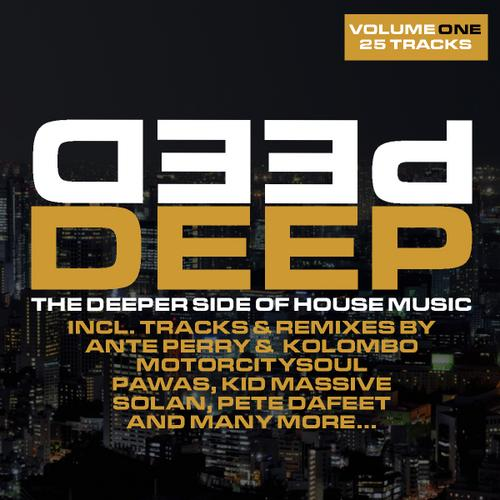 Album Art - Deep Volume 1 - The Deeper Side Of House Music