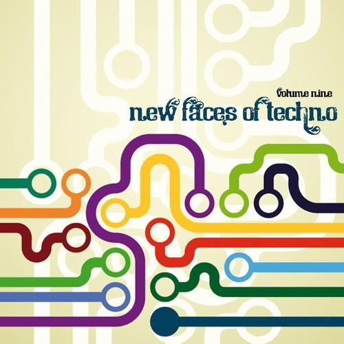 New Faces of Techno, Vol. 9 Album Art