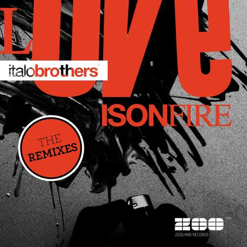 Love Is On Fire The Remixes Album Art