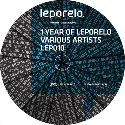 Various Artists - 1 Year Of Leporelo Album Art