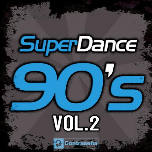 Superdance 90's Vol.2 Album Art