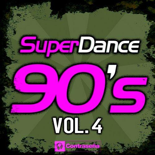 Superdance 90's Vol.4 Album Art