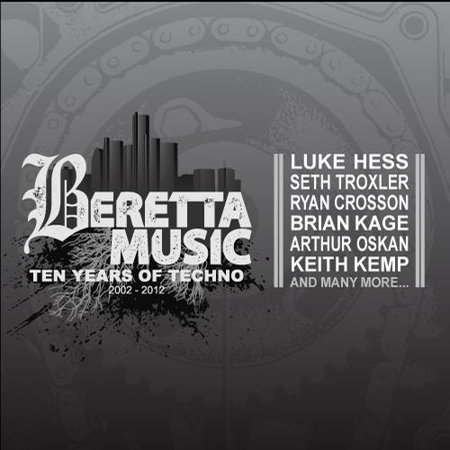 Album Art - Ten Years Of Techno 2002 - 2012