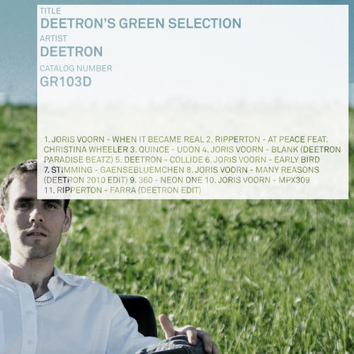 Album Art - Deetron's Green Selection