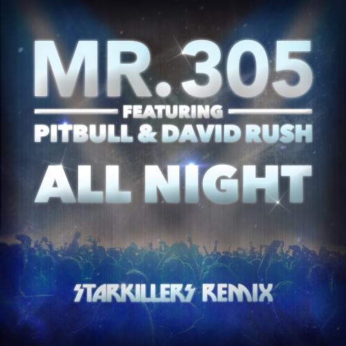 Album Art - All Night - Starkillers Remix