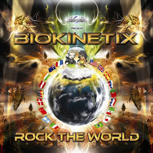Album Art - Biokinetix - Rock the World