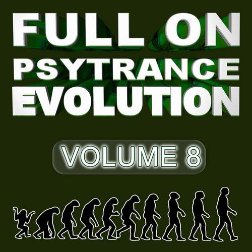 Album Art - Full On Psytrance Evolution V8