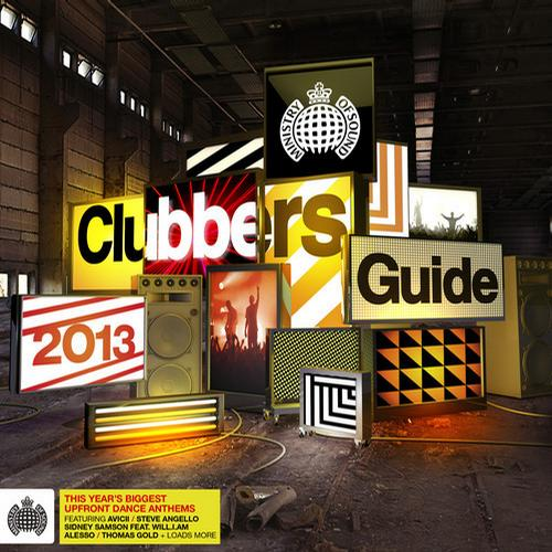 Album Art - Clubbers Guide 2013 - Ministry of Sound