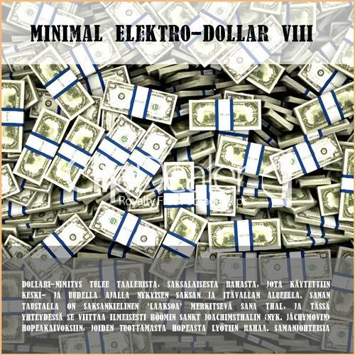 Album Art - Minimal Elektro-Dollar VIII