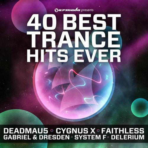 Album Art - 40 Best Trance Hits Ever