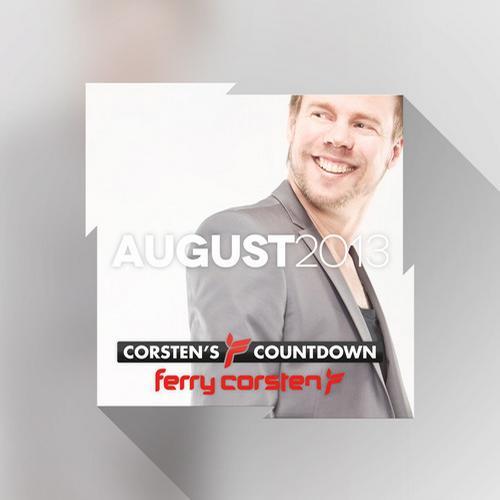 Album Art - Ferry Corsten presents Corsten's Countdown August 2013