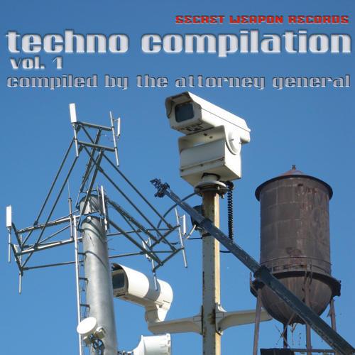 Album Art - Secret Weapon Techno Compilation Volume 1