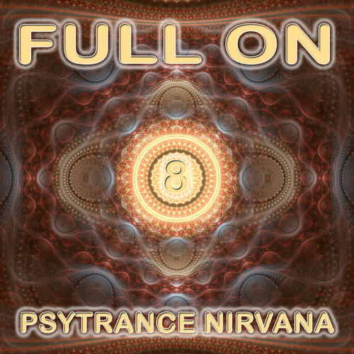 Album Art - Full On Psytrance Nirvana V8