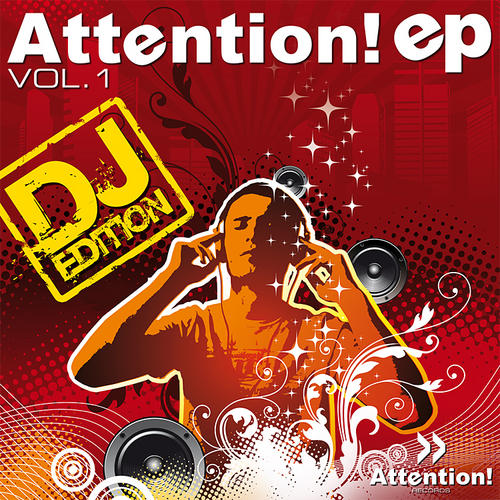 Album Art - Attention EP Volume 1 (DJ Edition)