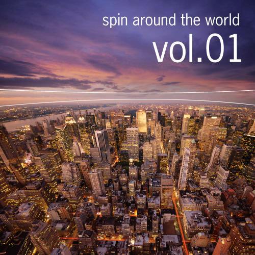 Album Art - Spin Around The World (54 Techno Tracks)