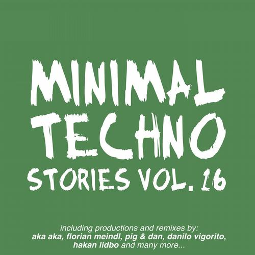 Album Art - Minimal Techno Stories, Vol. 16
