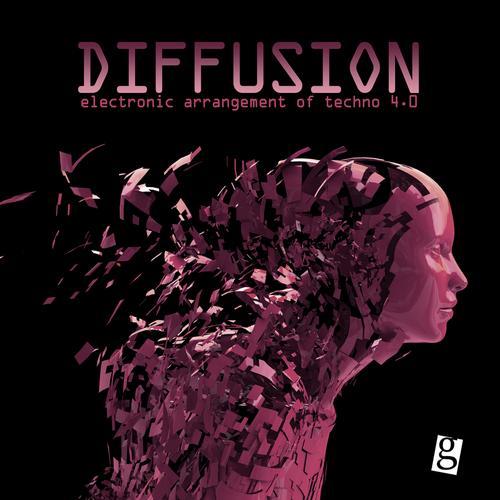 Album Art - Diffusion 4.0 - Electronic Arrangement of Techno