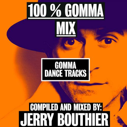 Album Art - 100% Gomma Mix by Jerry Bouthier