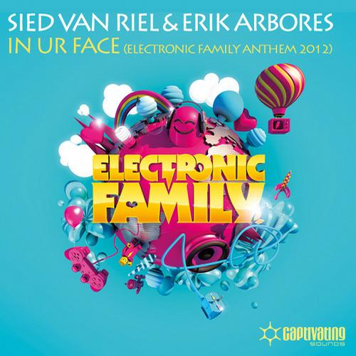 Album Art - In Ur Face - Electronic Family Anthem 2012