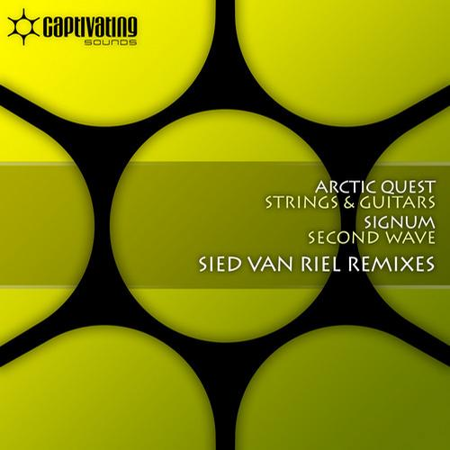 Album Art - Strings & Guitars / Second Wave - Sied van Riel Remixes