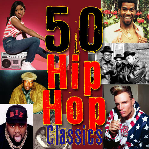 50 Hip Hop Classics Album Art