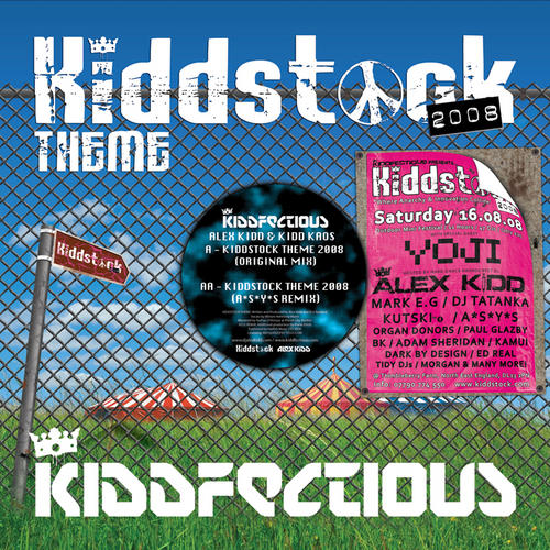 Album Art - Kiddstock Theme