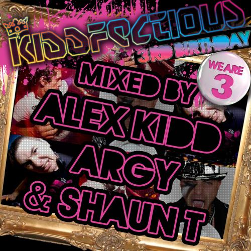 Album Art - Kiddfectious 3rd Birthday